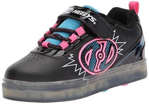 Heelys X2 Fitnessschuhe, Mehrfarbig (Black/Neon Blue/Neon Pink 000), 33 EU