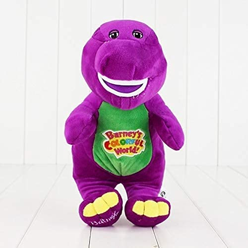 YICAO soft toy 30cm Singing Friends Dinosaur Barney Sing I LOVE YOU Song Plush Doll Toy For Children