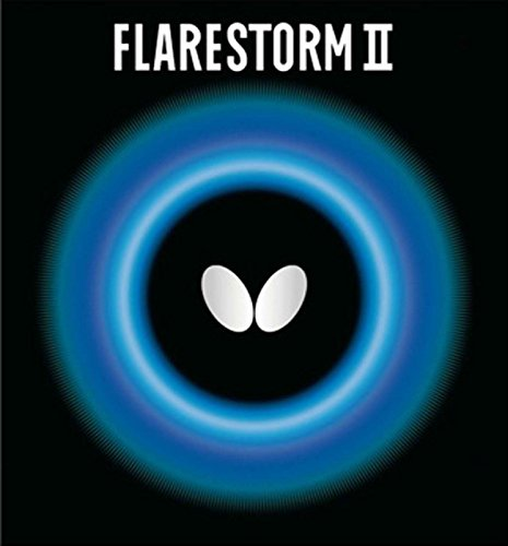Best Price Butterfly 2.1 Flarestorm II Rubber, Black