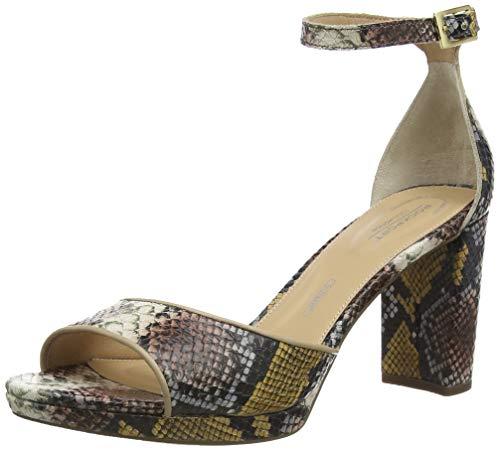 Rockport Total Motion Ivy Anklestrap Sandal, Bride Cheville Femme, Multi Snake 001 Multicolore, 38 EU