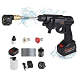 Cordless Pressure Washer, 24V Max 430 PSI Bravolu Portable Pressure Washer, Battery and Charger Included, Hydroshot Portable Power Cleaner with 6-in-1 Multi-Function Nozzle