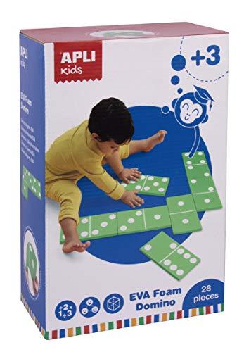 APLI Kids 17617 - Dominó goma EVA XXL - Actividad educativa