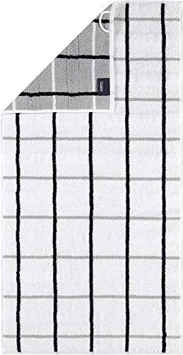 Cawö Home Serviettes Noblesse Square 1079 - Blanc - 67 serviettes de bain - 80 x 150 cm