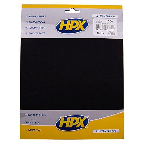 HPX 235935 P1000 Pack de 4 Papiers abrasifs