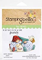 Stamping Bella Cling Stamps-Beer Gnomes