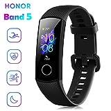 Honor Band 5 Fitness Tracker Smartwatch Impermeabile 50M 0,95' Schermo AMOLED a Colori pedometro e...