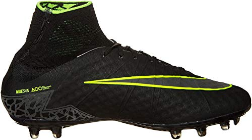 Nike Herren Hypervenom Phantom II FG Fußballschuhe, Negro (Black/Black), 46 EU