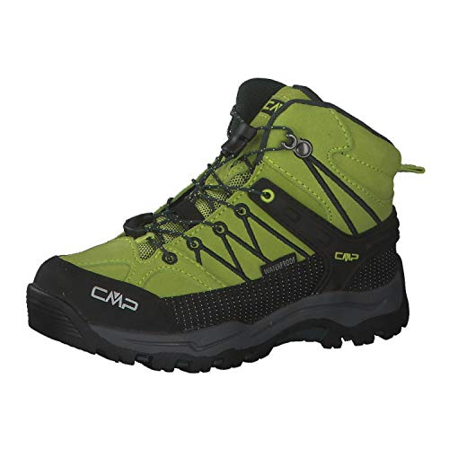 CMP Rigel Mid Chaussures de randonnée et trekking pour enfant Unisexe, Energy Jungle, 37 EU