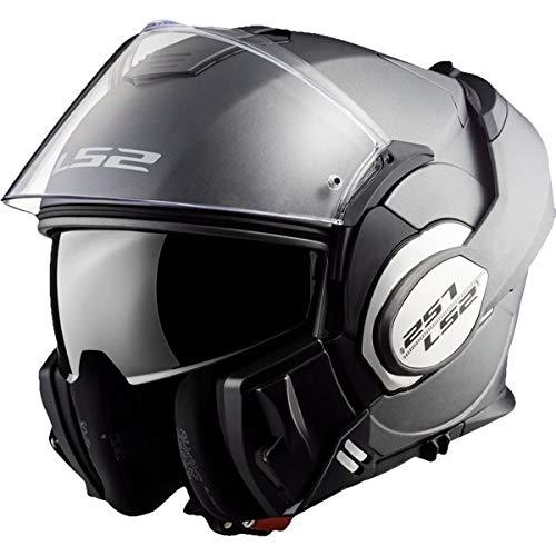 bon comparatif LS2 VALIANT MATT TITANIUM Motorcycle Helmet – XL, Titanium, Size XL un avis de 2021