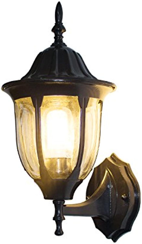 Wlxsx Europische Retro-Outdoor-Wasserdichte Wand Lampe Wohnzimmer Balkon Gang Flur Lichter