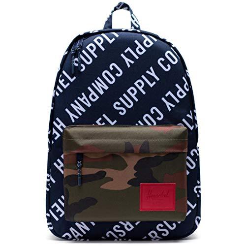 Herschel Classic Backpack, Roll Call Peacoat/Woodland Camo, XL 30.0L