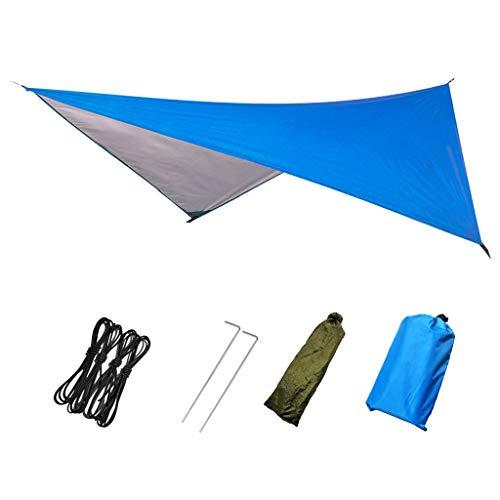 SuperSU Outdoor-Lieferungen Multifunktionaler Sonnenschutz, Gleichseitig Dreieckige Sonnenschutzmarkise, Outdoor Wasserdichter Vorhang Aus Oxford-Stoff