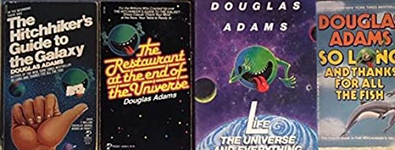 THE UNIVERSE OF DOUGLAS ADAMS Complete Four-Volume Trilogy The Hitch Hiker's Guide to the Galaxy . The Restaurant at the E...