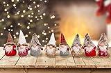 Set mit 4 oder 8 Weihnachtswichteln/Weihnachtskobolden. Weihnachtsdekoration. Höhe 20 cm. Geschenkidee. Wichtel Kobold. (8 Wichtel)