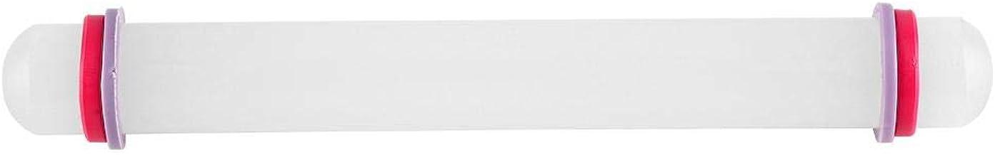 p/âtisserie Outil de Cuisson pour Fondant Rouleau /à p/âte pour Pizza Biscuit Biscuit avec poign/ée en Bois et Surface antiadh/ésive kashyk Rouleau /à p/âtisserie en Silicone cro/ûte /à Tarte