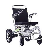 Wheelchair Silla de ruedas, silla de rehabilitación médica para personas mayores, personas mayores, silla de ruedas eléctrica inteligente plegable ligera completamente automática