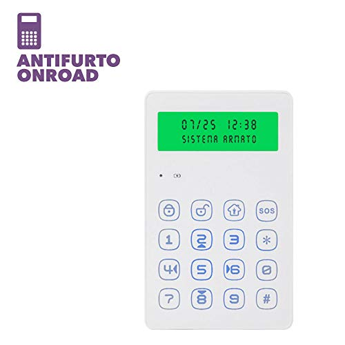 Kit antirrobo Camper Caravana Furgoneta GSM Wireless Touch Screen Onroad alarm100