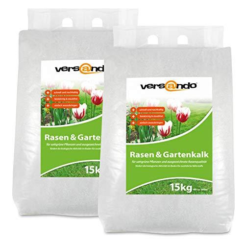 versando Engrais de Jardin Sac de 30kg avec poignée (Chaux Multi-Action pour Le Jardin)