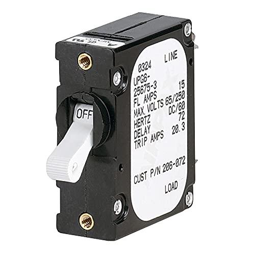 Paneltronics disjuntor 25 Amps único polo com moldura magnética