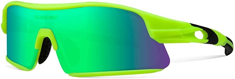 Queshark Sports We OFFer at cheap prices Sunglasses with 4 Men Lenses Interchangeable Tucson Mall for