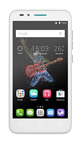 """Alcatel Onetouch Go Play - Smartphone Libre de 5"""" (WiFi, Bluetooth, 1 GB de RAM, Android 5.1) Color Azul y Blanco"""