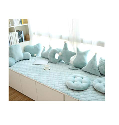 Tatami sets van erker kussens, eenvoudige erker vensterbank matten, vier seizoenen balkon dekens, machine wasbare slaapkamer vloer tot plafond ramen
