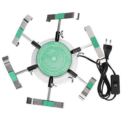 Enrollador de reloj, reloj mecánico Instrumento de cuerda automática Herramienta de cuerda de reloj mecánico 220 V para hombres y mujeres Dispositivo de reloj de pulsera