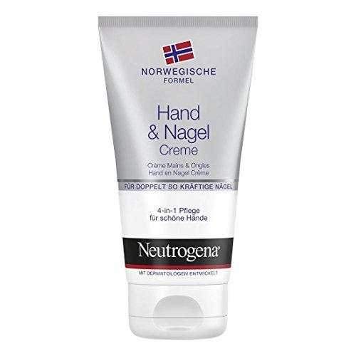 Neutrogena mano & uñas color crema con la 4en 1Cuidado Para Manos contenido: 75ml