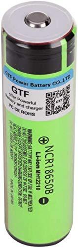 Batería de Litio de 3400mAh 3400mAh 3.7V batería de Litio Recargable para la Linterna LED o la batería Puntiaguda del Dispositivo electrónico.-8 PCS