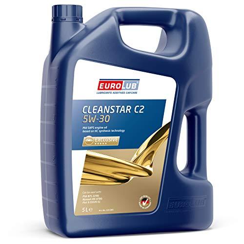 EUROLUB CLEANSTAR C2 SAE 5W-30 Motoröl, 5 Liter