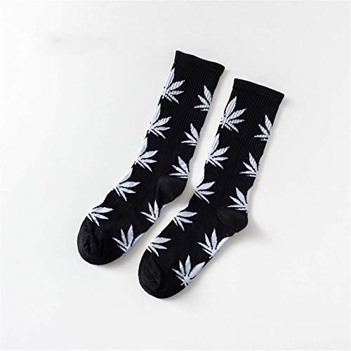 Witou Las Mujeres Hombres Baratos del Tobillo del calcetín de Arce Hoja Mujer Primavera Verano Weed Monopatín de Hip Hop Calcetines, Comodidad y Ocio (Color : 20)