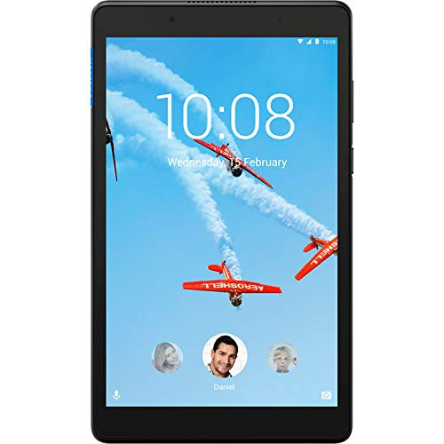 (Renewed) Newest Lenovo Tab 8 Tablet, 8.0 inch IPS HD(1280 x 800) Touchscreen, MT8163B Quad-Core Processor 1.30GHz, 1GB Memory, 16GB Storage, WiFi, Bluetooth, Android Nouga OS