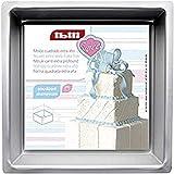 IBILI 815220 - Molde Cuadrado Recto Extra Alto 20X10
