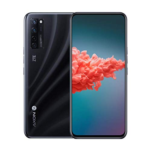ZTE Axon 20 5G Smartphone 8 GB RAM + 128 GB di memoria interna con display AMOLED da 7 pollici, fotocamera principale da 64 MP, fotocamera frontale da 32 MP, doppia SIM, NFC e Android 10, giallo