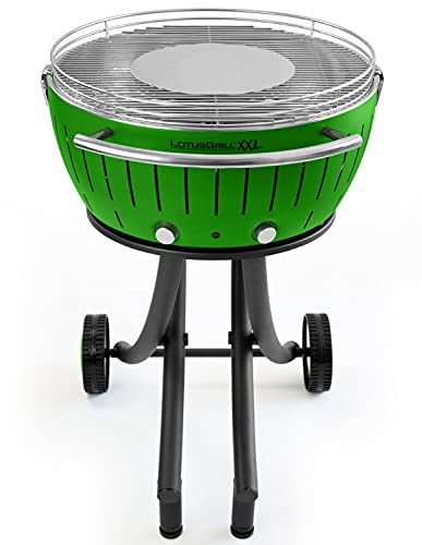 LotusGrill XXL barbecue a carbonella, Verde Lime, 78x 78x 48cm