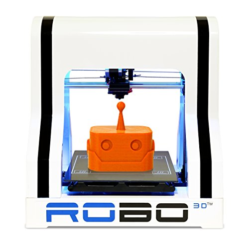 ROBO 3D R1 Fully Assembled 3D Printer, 8' x 9' x 10' (Discontinued)