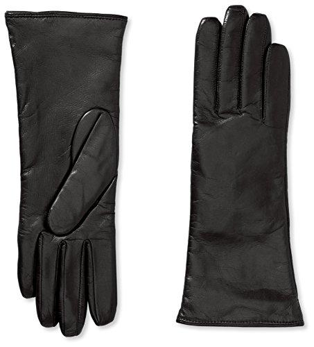 Roeckl Damen Edelklassiker Kaschmir medium Handschuhe, Schwarz (Black 000), 7.5