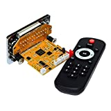 WNJ-TOOL, 1pc DTS Lossless Bluetooth MP3 Decoder Board DC5V Audio-Decodierungsmodul FM Radio WAV WMA FLAC APE MTV HD Video Player DIY (Größe : Other)
