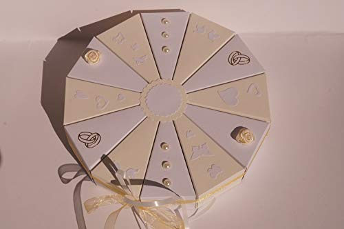 Tolle Torte Geldgeschenk, Hochzeit Geldgeschenkverpackung Verpackung Geld verschenken Geldgeschenkverpackung aus Papier zur Hochzeit, Geld verschenken, Geschenkverpackung