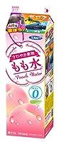 【冷蔵】エルビー さわやか果物 もも水(カロリーゼロ)1L X10本
