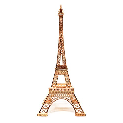 """Allgala Eiffel Tower Statue Decor Alloy Metal, and Size (24"""", Rose Gold)"""