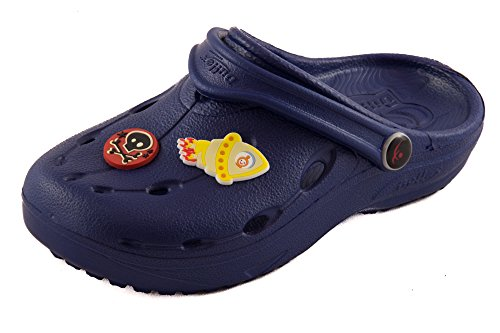 Chung Shi DUX Kids Schuh-Shibit-Set 7910100 Unisex-Kinder Clogs, Navy, 24/25