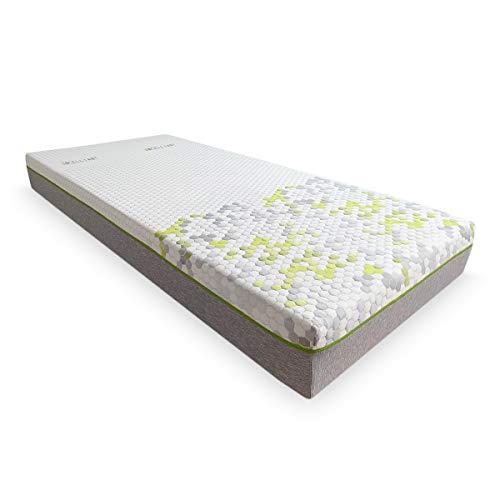 Duérmete Online Premium Colchón Viscoelástico Fisiocare One Celliant, Adaptabilidad y Confort, Descanso Reparador (Todas Las Medidas), 135x180