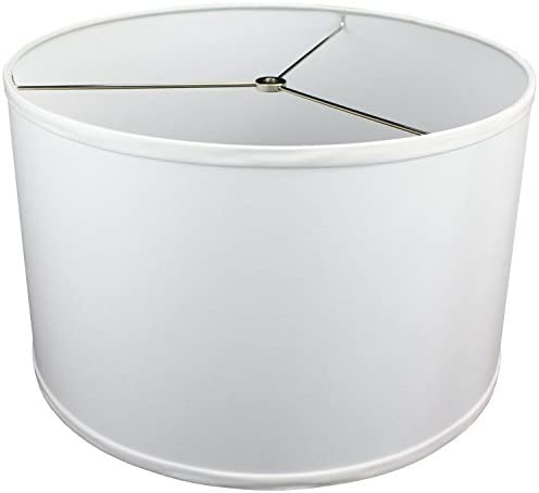 FenchelShades com 16 Top Diameter x 16 Bottom Diameter 10 Height Lampshade USA Made White product image