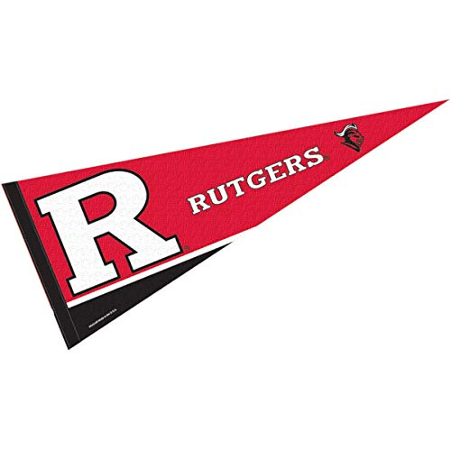 College Flags & Banners Co. Rutgers Pennant Full Size Felt