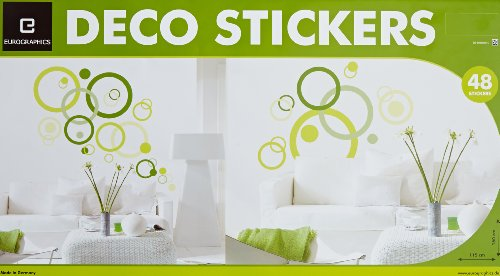 Eurographics Deco Sticker / Wandtattoo DS-DMO1035-VP Bubbles 50x70 cm