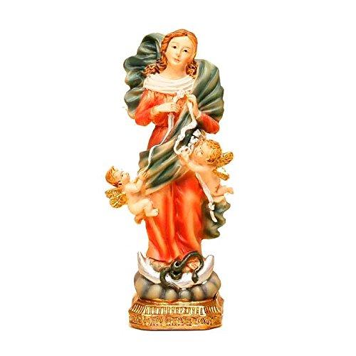 Trofeos Cadenas | Virgen Desatanudos. Figura Religiosa, en Resina, de 11 cm