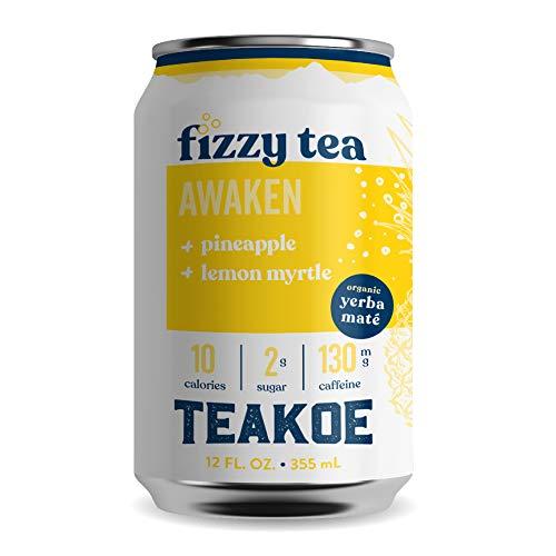 TEAKOE Fizzy Tea   100% Organic Yerba Mat