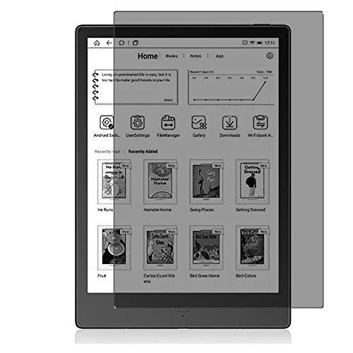 Vaxson TPU Pellicola Privacy, compatibile con Likebook Alita 10.3' K103, Screen Protector Film Filtro Privacy [ Non Vetro Temperato ]