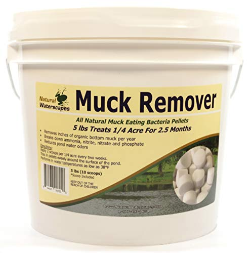 Natural Waterscapes Muck Remover Pellets - 5 lbs